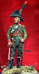 Cacciatore Officer of the Imperial Guard 1812