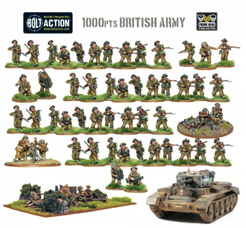 Bolt Action Starter Army - British - Picture 2