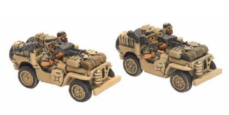 British LRDG-SAS Jeep - Picture 3