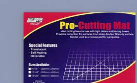 9 X 12 Cutting Mat- Translucent