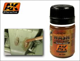 Wash-Light Rust for Green Vehicles