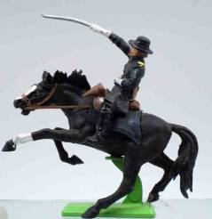 Britains Deetail Mounted Union Officer