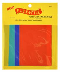 Flex-I-File Ultra Fine Abrasive Sheets