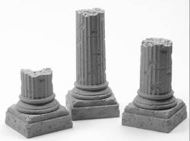 Greco-Roman Ruined Column Base Combo Pack
