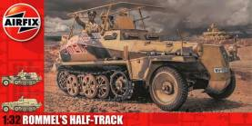 Rommel's Half Track with 3 Figures