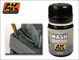 Wash- Brown Blue for Panzer Grey Vehicles