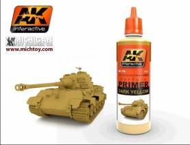 AK Dark Yellow Primer 60ml Bottle