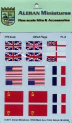 Allied Flags (US, USSR, UK)