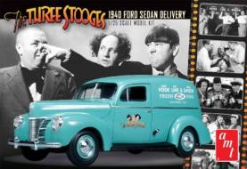 Three Stooges: 1940 Ford Sedan Delivery Van