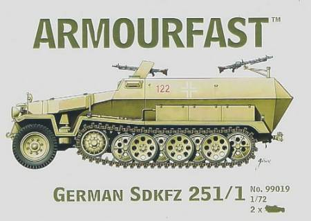 WWII German SdKfz 251/1 Halftrack