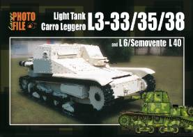 Photo File Large 2: Light Tank L3-33/35/38 & L6/Semovente L40