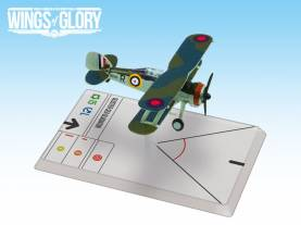 Wings Of Glory WWII Series III Miniatures: Gloster Sea Gladiator (Burges)