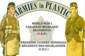 WWI - Canadian Expeditionary Force - Highland Regiment