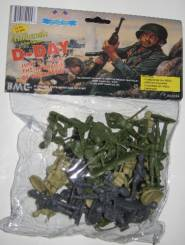 WWII D-Day: The Invasion of Normandy Bagged Figure Set