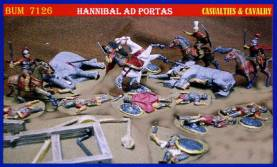 Hannibal Casualties & Cavalry Only 1 Available