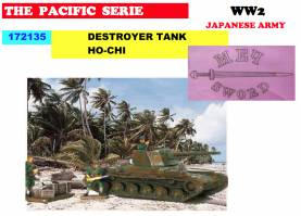WWII Japanese Ho-NI Tank Destroyer