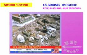 WWII US Marines on Peleilu Diorama Set Only 1 Available