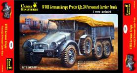 Military Series: WWII German Krupp Protze Personnel Carrier Truck
