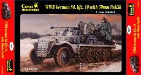 Military Series: WWII German Sd. Kfz.10 with 50mm Pak 38