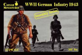 Military Series: WWII German Infantry 1943 - Assembly Series