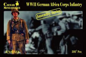 Military Series: WWII German Africa Korps Infantry - Assembly Series