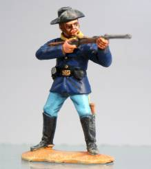 7th Cavalry Trooper Standing Firing