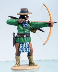 Apache in Hat - Standing Firing Bow & Arrow