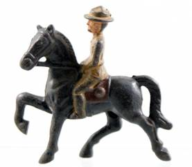 Grey Iron G35 Mounted Soldier