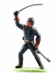 Chromoplasto Confederate Officer With Sword