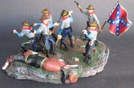 Dismounted Confederate Cavalry on Base