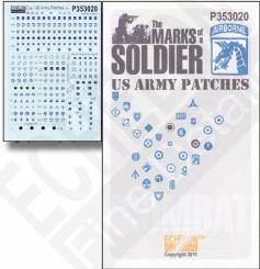 Marks of a Soldier US Army Patches