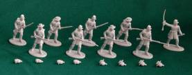 American Civil War Union Infantry - Blue Plastic