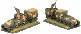 WWII French Lorraine 38L Armoured Carrier