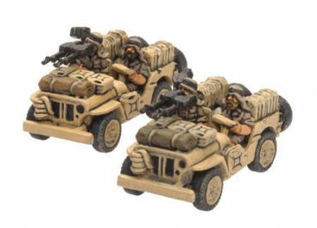 British LRDG-SAS Jeep