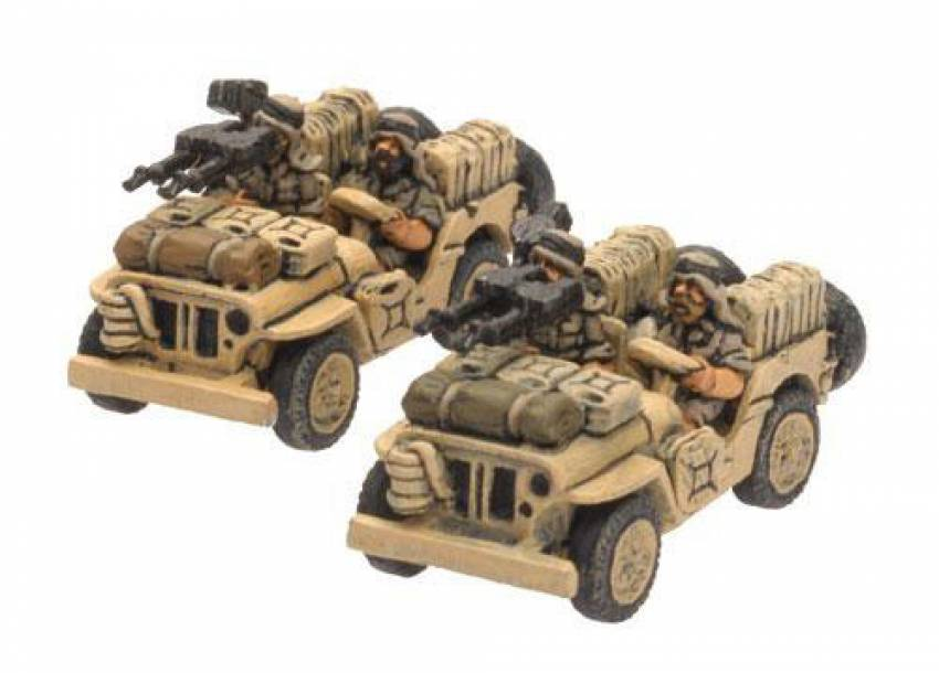British LRDG-SAS Jeep - ZOOM in
