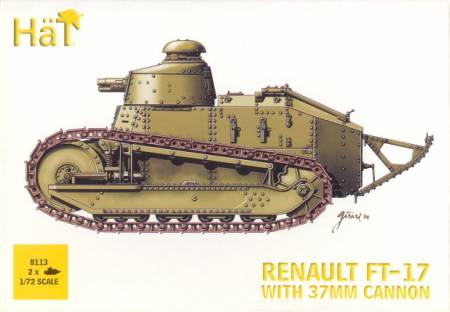 Renault FT-17 with 37mm Cannon