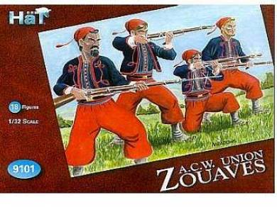 Zouaves in Red Blue or Gray