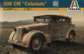 WWII Italian 508CM Coloniale Military Vehicle