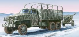 WWII US Lend Lease Cargo Truck & ZIS3 Gun with Trailer
