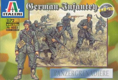WWII German Infantry Panzergrenadiers