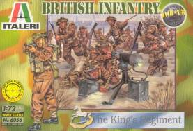 WWII British Infantry, The King's Regiment