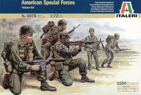 Vietnam War American Special Forces