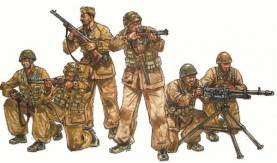 WWII Italian Paratroopers Combat Group (6)