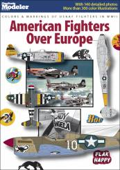 Colors & Markings Of USAAF Fighters in World War II: American Fighters Over Europe