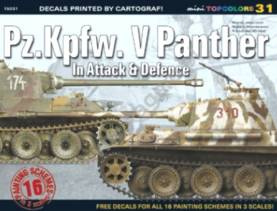 Topcolors: PzKpfw V Panther in Attack & Defence