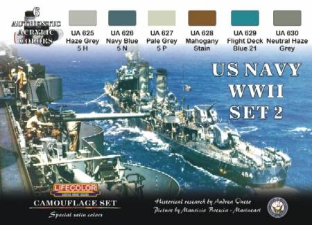 Michigan Toy Soldier Company Lifecolor Acrylic Paint U