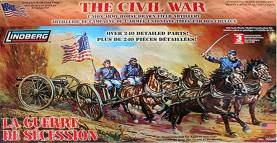 Civil War Union Army Horse Drawn Artillery