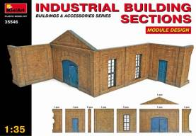 Industrial Building Sections, Module Design