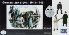 WWII German Tank Crew Set #2 1943-45