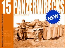 Panzerwrecks #15 :German Armor 1944-45